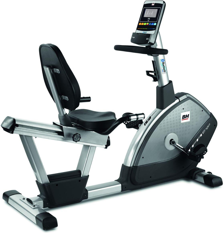 Rower Treningowy Magnetyczny Poziomy i.TFR Ergo Bluetooth H650I BH Fitness