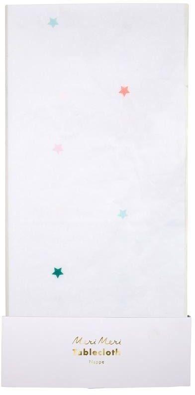 Obrus gwiazdki kolorowe
