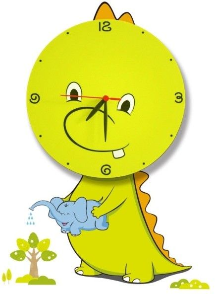 Lampka dziecięca DRAGON LED CLOCK 0,6W LED