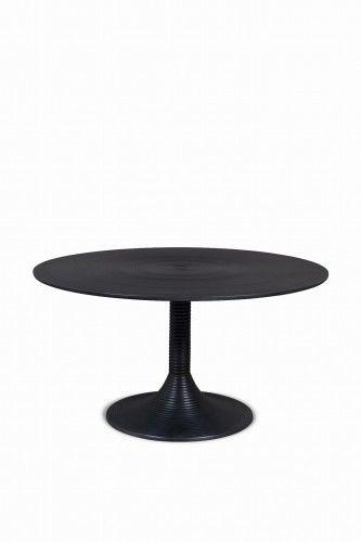 Stolik kawowy hypnotising round czarny