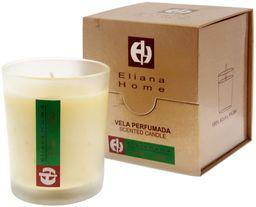 Eliana Home 643040 kubek czerwony świeca i palma las