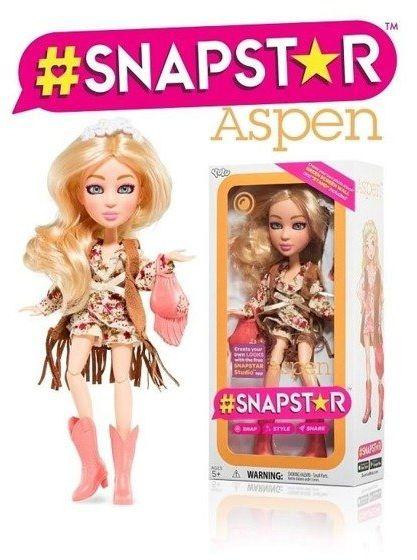 Lalka Snapstar Aspen