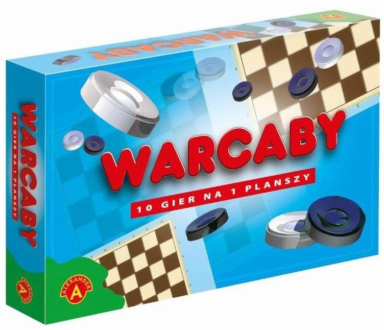 Gry ''ALEXANDER'' Warcaby 12 gier na planszy (1378)