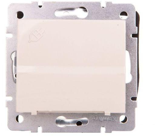 LOGI Gniazdo z uziemieniem IP44 Schuko śrubowe kremowe 16A 250V 021230103 25146