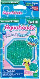 Aquabeads  32698  zielone błyszczące perły