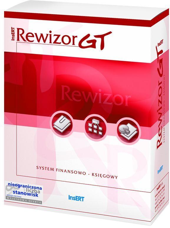 Insert Rewizor GT System finansowo-księgowy Pełna księgowość