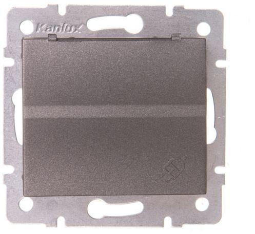 LOGI Gniazdo z uziemieniem IP44 Schuko śrubowe grafit 16A 250V 021230141 25264