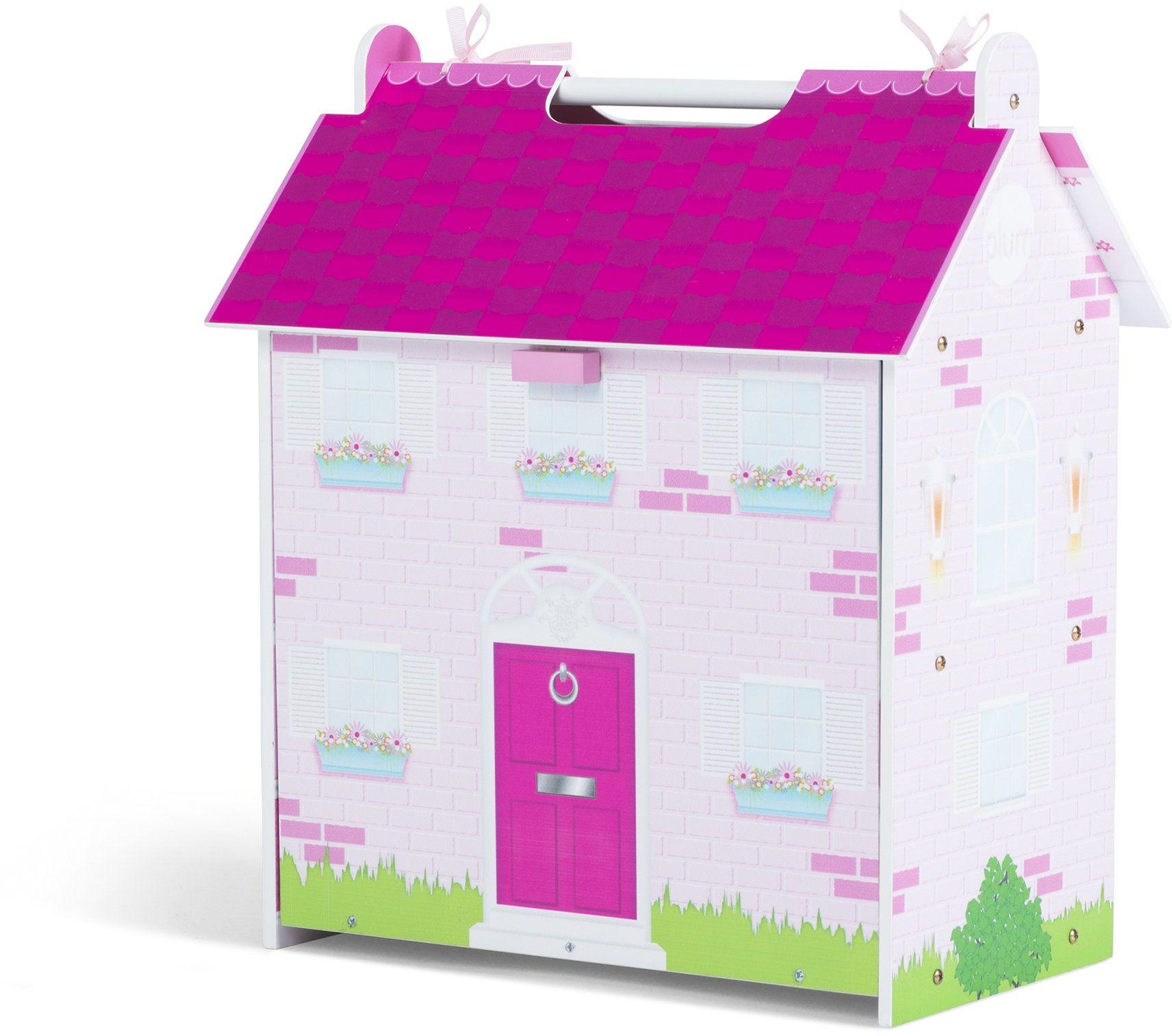 Plum Hove drewniany domek dla lalek z drewnianymi akcesoriami