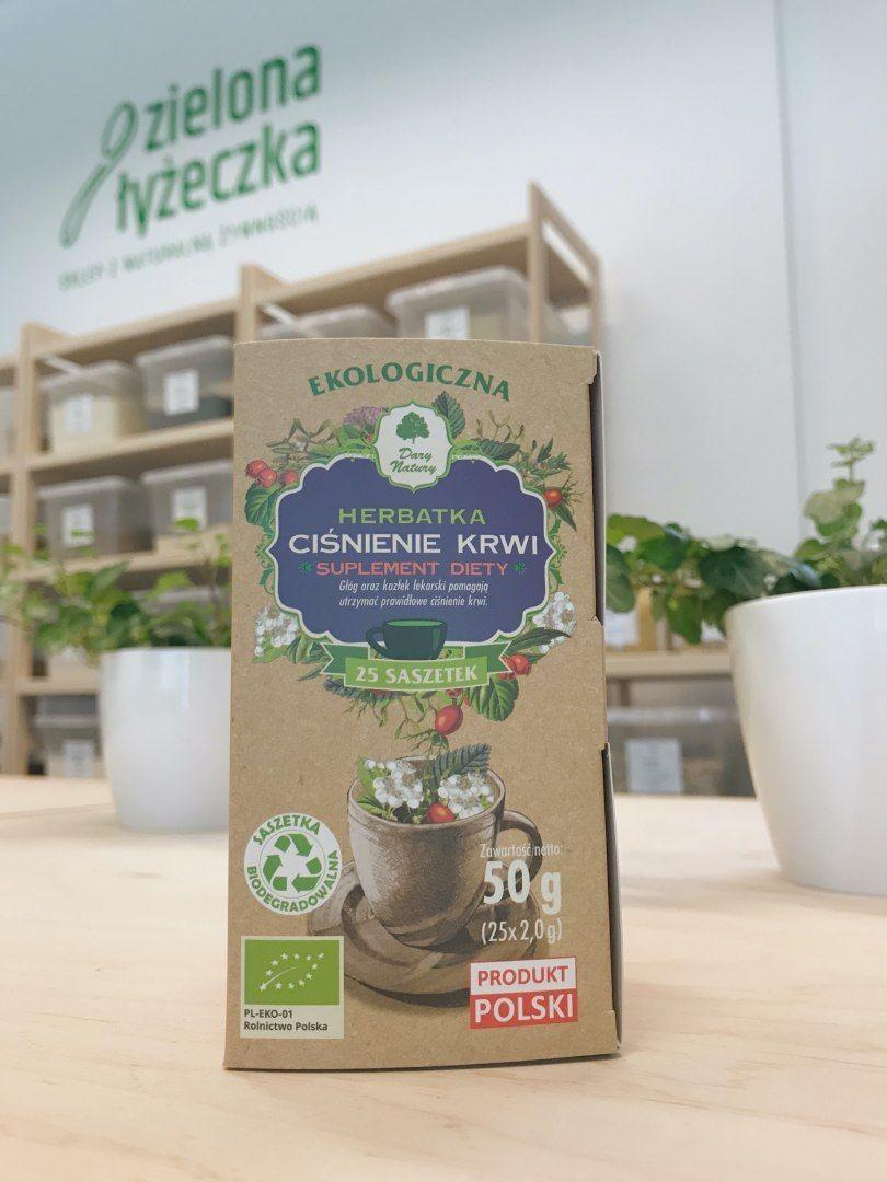 Herbatka ciśnienie krwi ekologiczna