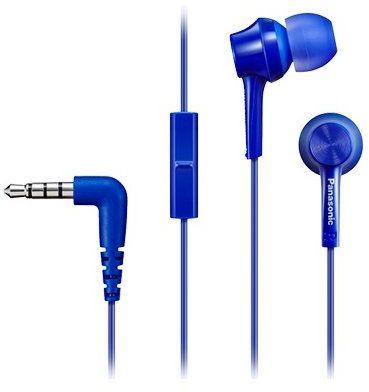 Słuchawki PANASONIC RP-TCM115 Niebieski. > RABATOMANIA! 5-ty produkt 99% TANIEJ! ODBIÓR W 29 MIN DARMOWA DOSTAWA DOGODNE RATY!
