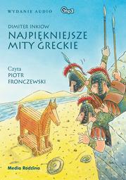 Najpiękniejsze mity greckie - Audiobook.