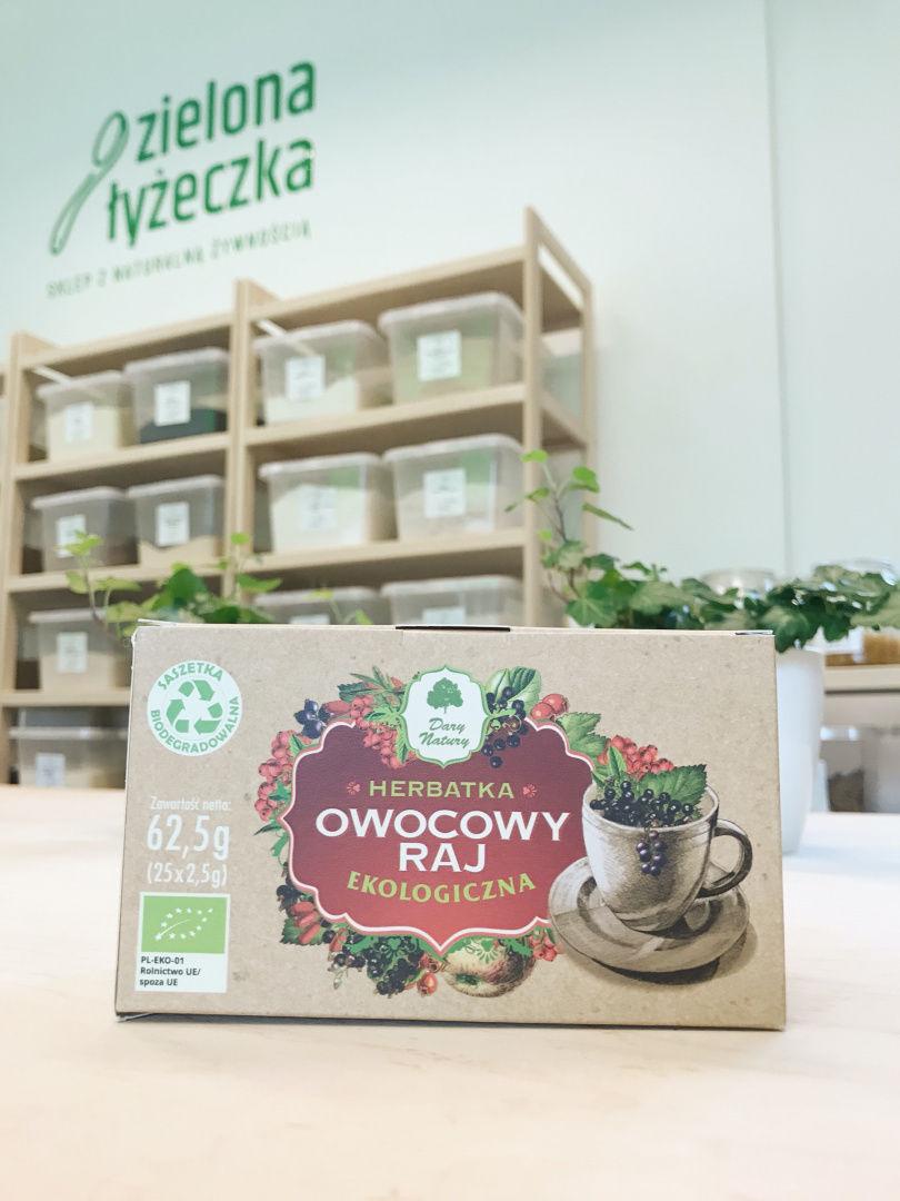 Ekologiczna Herbatka Owocowy Raj