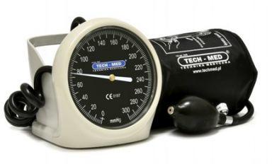 Ciśnieniomierz zegarowy TM-H Czarny
