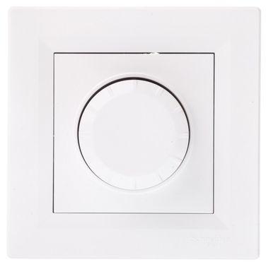 ASFORA Ściemniacz obrotowy RL z funkcją łącznika schodowego biały EPH6400121