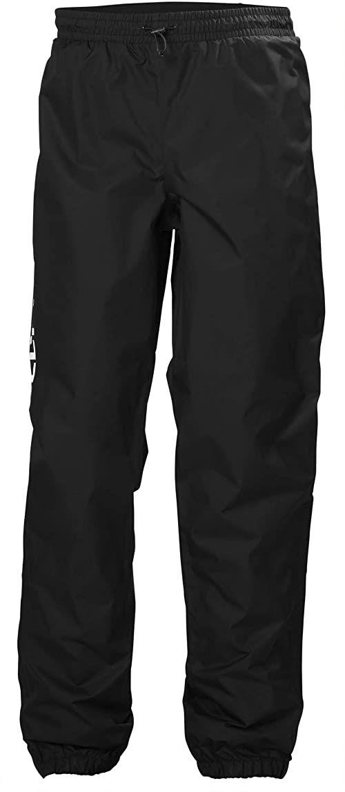 Helly Hansen Ervik męskie spodnie przeciwdeszczowe, czarne, XL