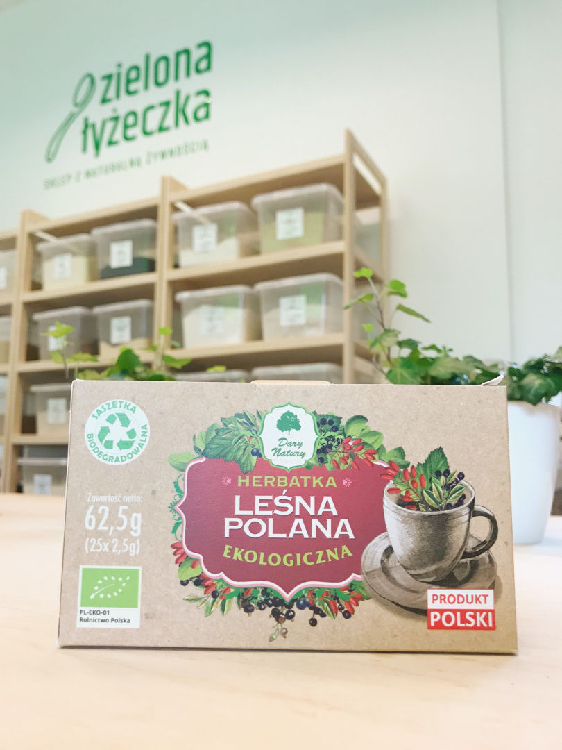 Ekologiczna Owocowa Herbatka Leśna Polana
