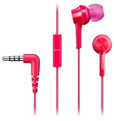 Słuchawki PANASONIC RP-TCM115 Różowy