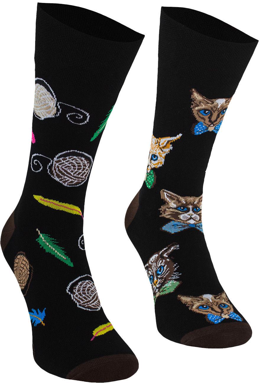Kot w muszce, Todo Socks, Koty, Kociaki, Kolorowe Skarpetki