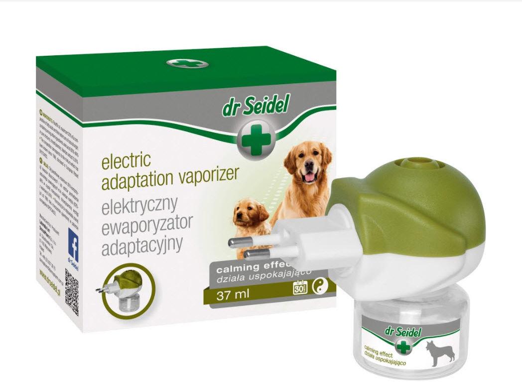 Dr Seidel elektryczny ewaporyzator adaptacyjny dla psów komplet dyfuzor + wkład 37ml