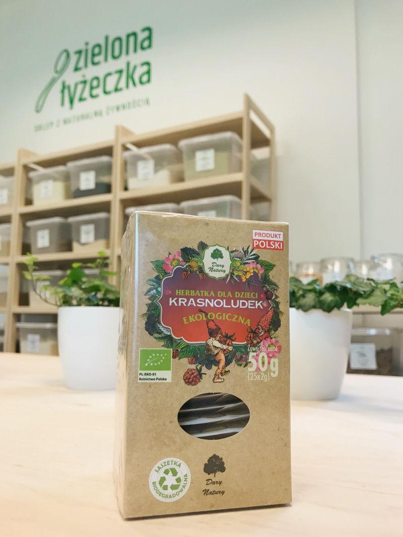 Ekologiczna Herbatka Dla Dzieci Krasnoludek