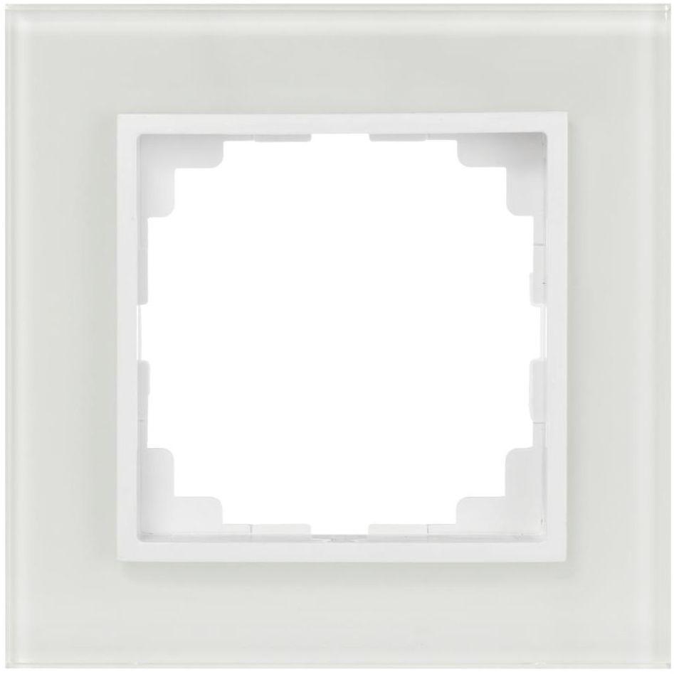 Ramka pojedyncza ASTORIA biały ELEKTRO-PLAST