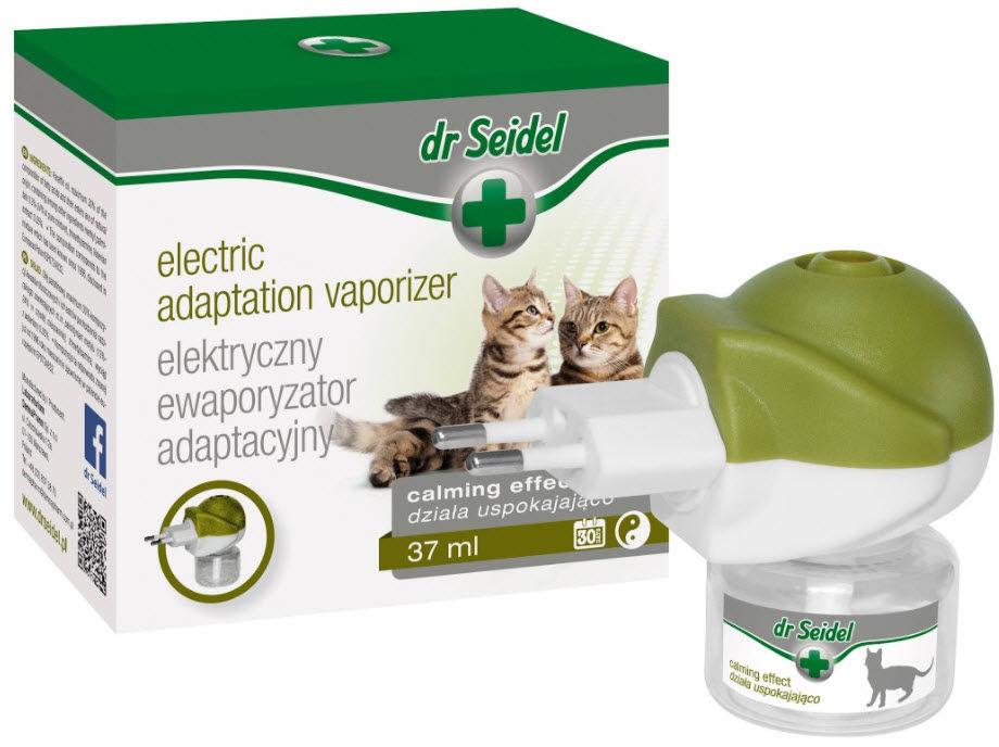 Dr Seidel ewaporyzator adaptacyjny dla kotów komplet (dyfuzor + wkład 37ml)