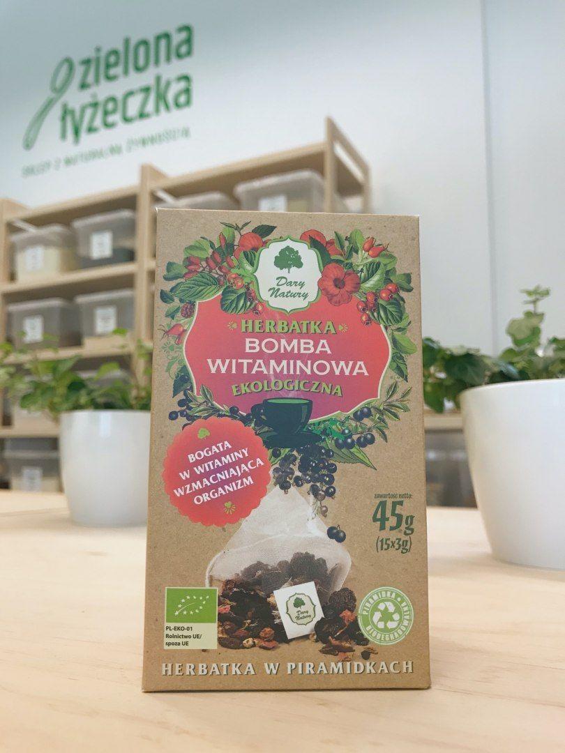 Ekologiczna Owocowa Herbatka Bomba Witaminowa