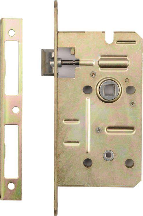 Zamek wpuszczany łazienkowy 60/50mm Vorel 78525 - ZYSKAJ RABAT 30 ZŁ