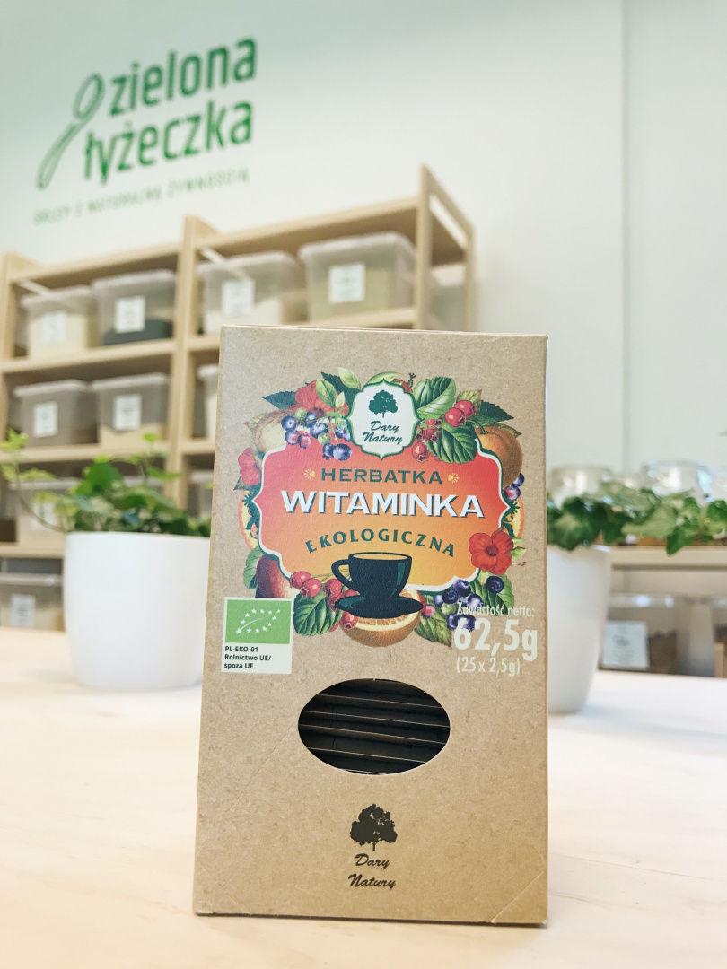 Ekologiczna Owocowo-Ziołowa Herbatka Witaminka