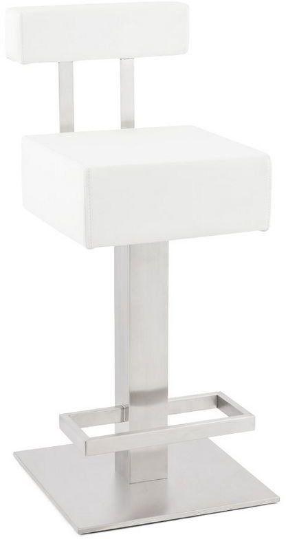 Kokoon design - stołek barowy noble mini - biały