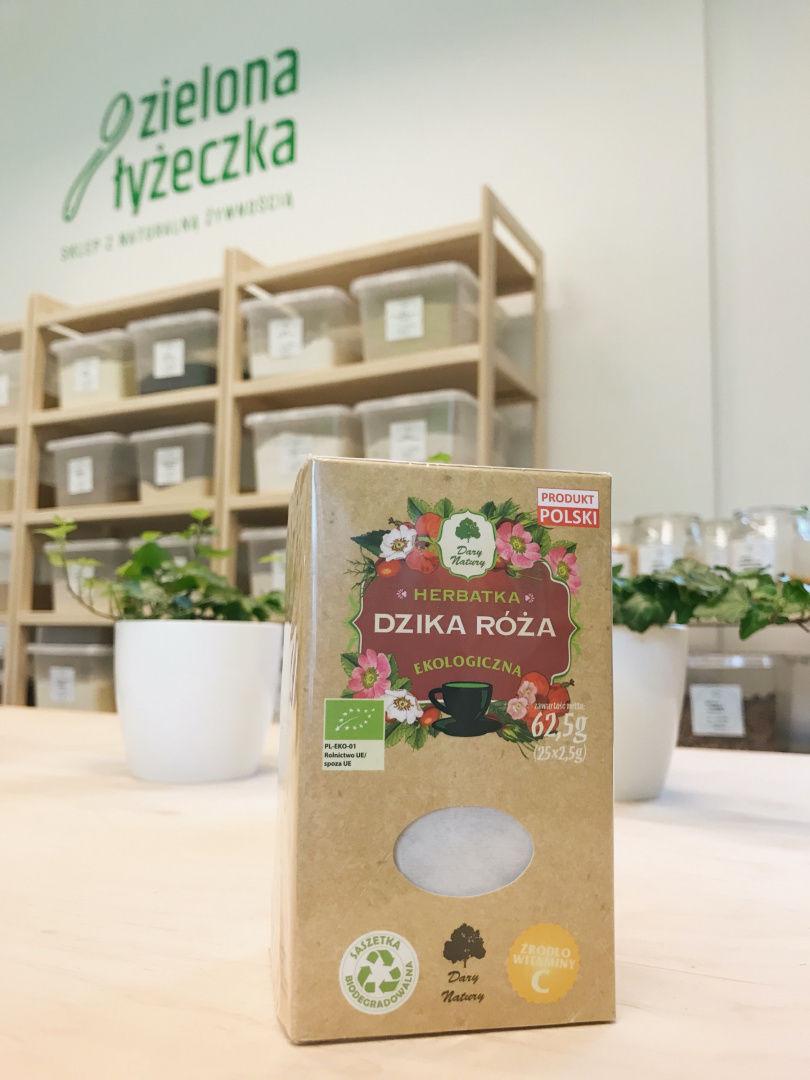 Ekologiczna Owocowa Herbatka Dzika Róża