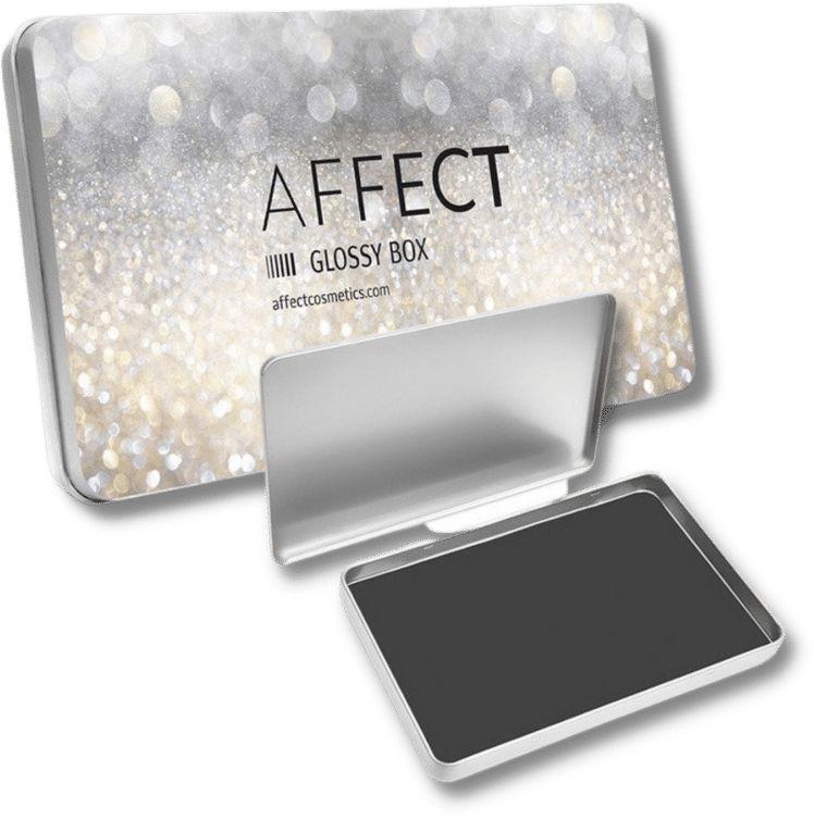 AFFECT Paletka aluminiowa magnetyczna - Glossy Box mini