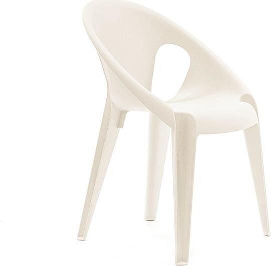 Krzesło bell kremowe