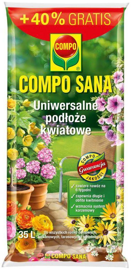 Podłoże kwiatowe uniwersalne 35 l COMPO