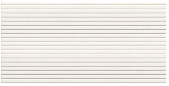 Glazura Femme Arte 22,3 x 44,8 cm white stripes 1,5 m2