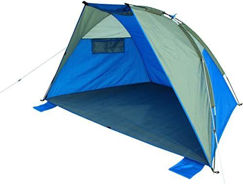 High Peak Bilbao namiot plażowy typu Pop Up Unisex''s bilbao, niebiesko-szary