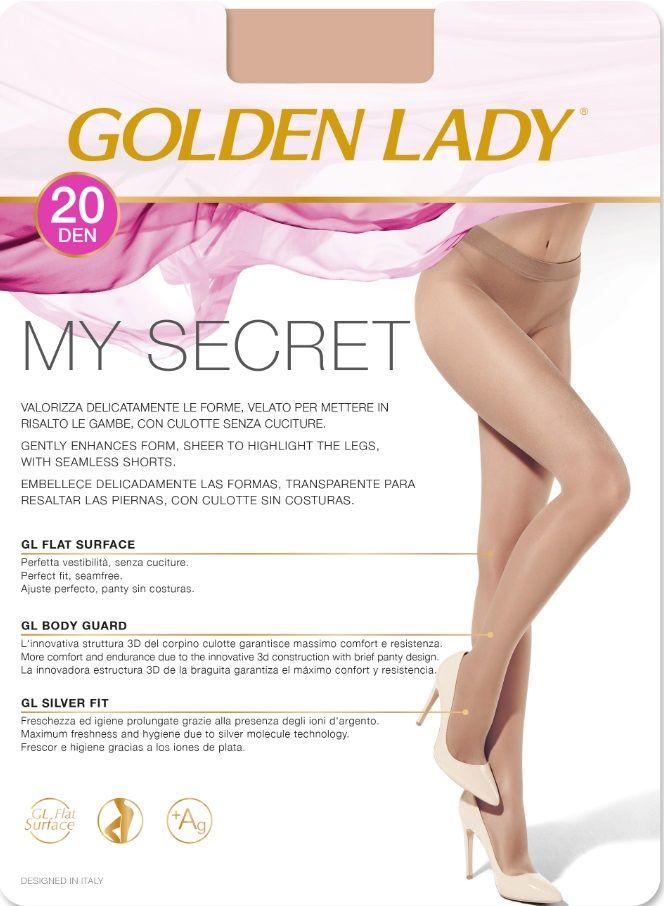 RAJSTOPY GOLDEN LADY MY SECRET 20 den relaksujące