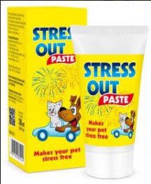 STRESS OUT PASTA - preparat łagodnie uspokajający dla psów i kotów 30 ml