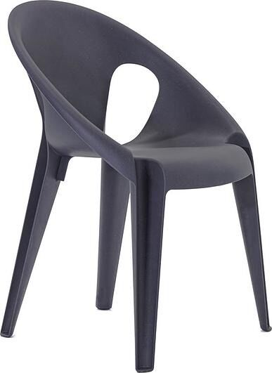 Krzesło bell antracytowe