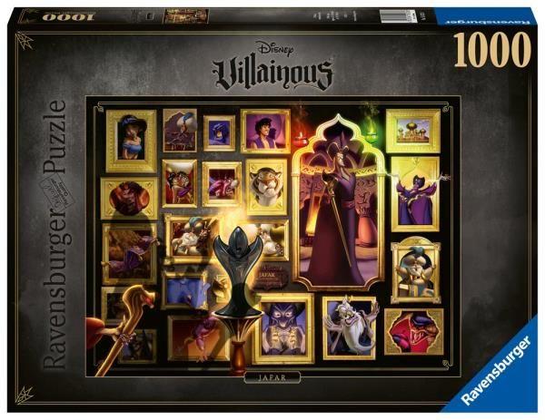 Puzzle 1000 elementów Villainous, Jafar (GXP-764200)