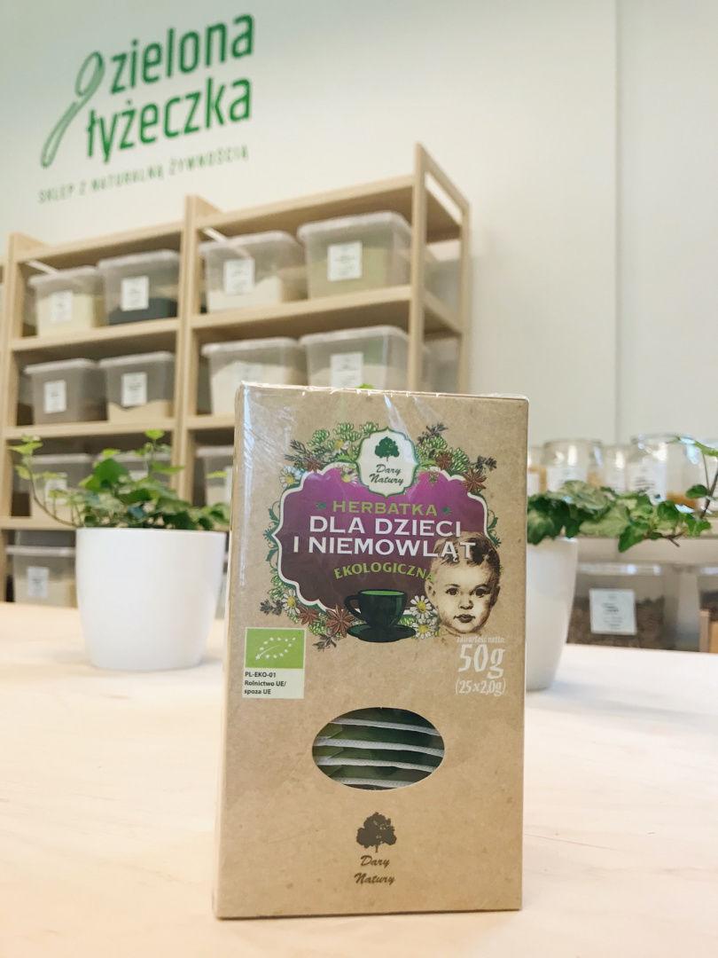 Herbatka Dla Dzieci i Niemowląt Ekologiczna