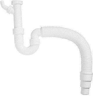Syfon Blanco elastyczny z miękkim przylączem 137262