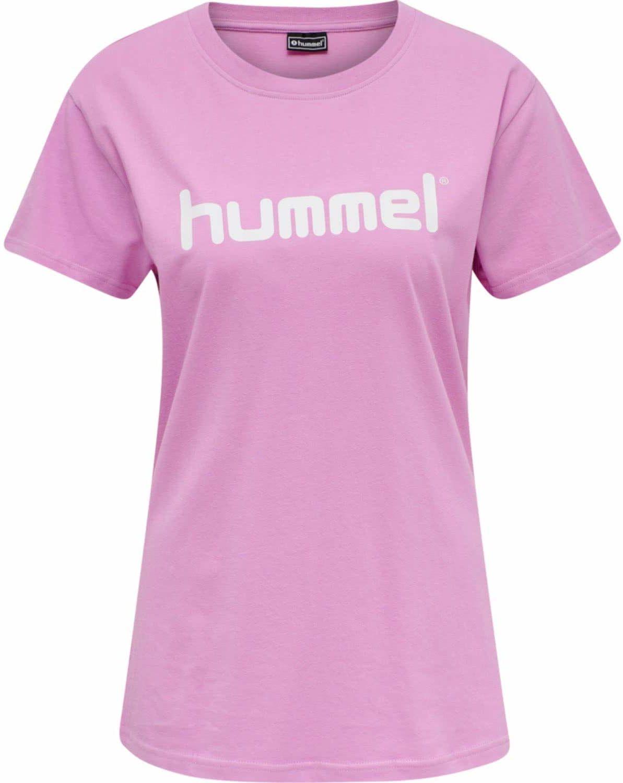 Hummel Damska koszulka Hmlgo Cotton Logo T-shirt Woman S/S Orchid XS