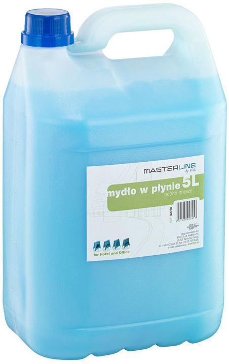 Mydło w płynie 5 litrów BISK niebieskie