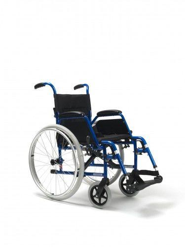 Wózek inwalidzki ze stopów lekkich BOBBY 24