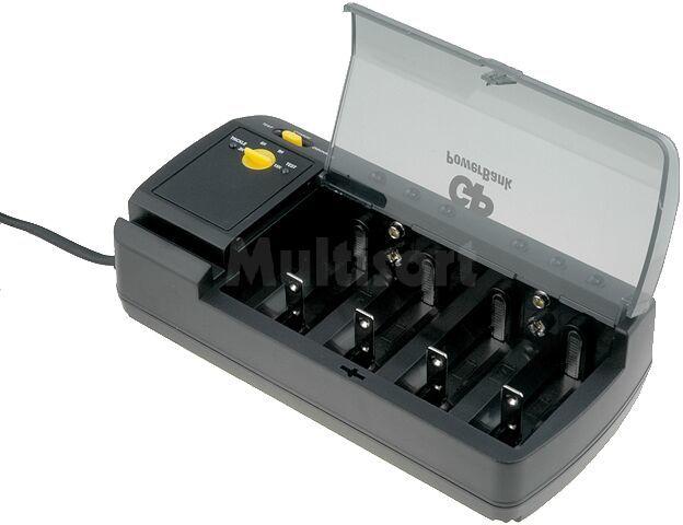 Ładowarka: do akumulatorów; Ni-MH; Rozmiar:6F22,AA, AAA, C,D