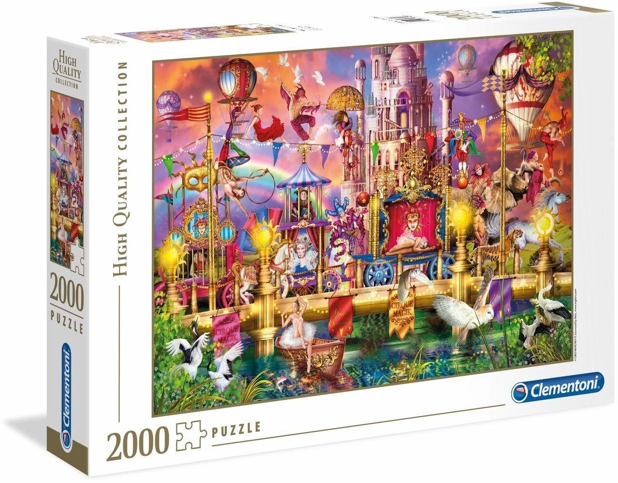 "Clementoni 32562""Der Zirkus-Puzzle 2000 Teile-High Quality Collection, wielokolorowy"