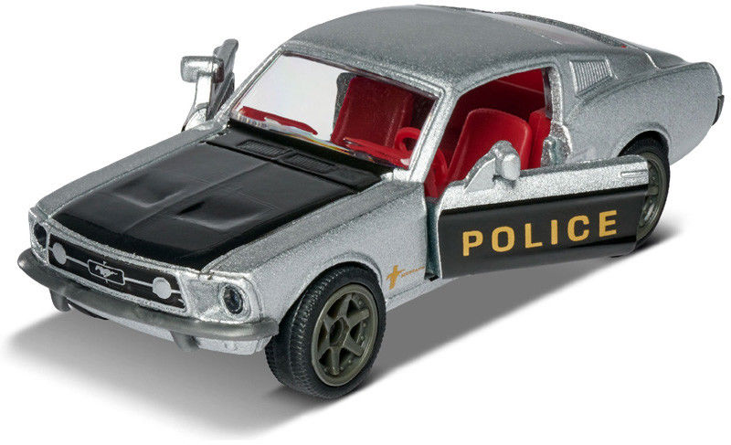 Majorette Vintage Deluxe Metal Series - Ford Mustang Fastback Police 2052019