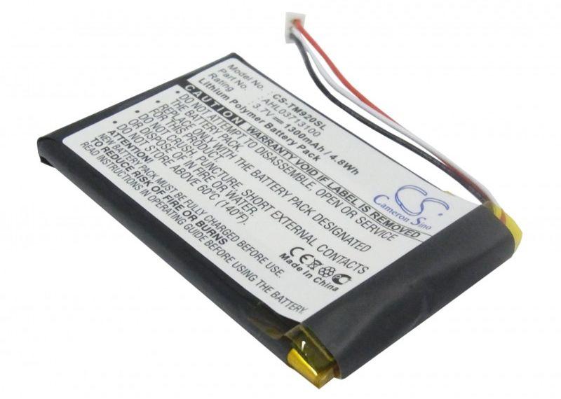 TomTom Go 920 / AHL03713100 1300mAh 4.81Wh Li-Polymer 3.7V (Cameron Sino)