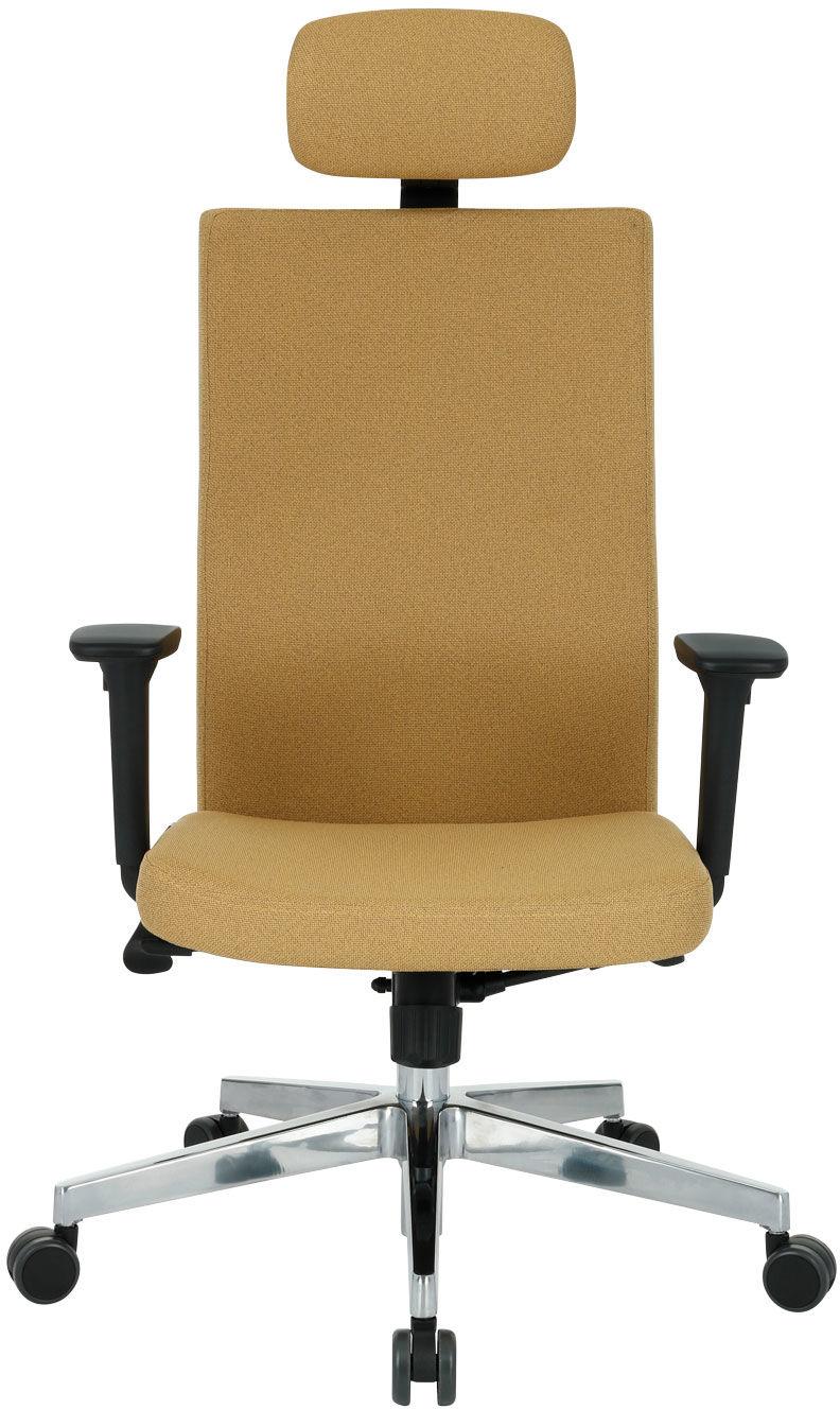Krzesło Team Plus HD Chrome, ergonomiczny fotel biurowy